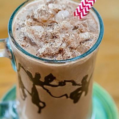 Frozen Hot Chocolate (Gluten-Free)