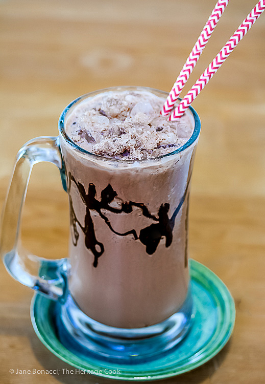 Frozen Hot Chocolate (Gluten-Free)