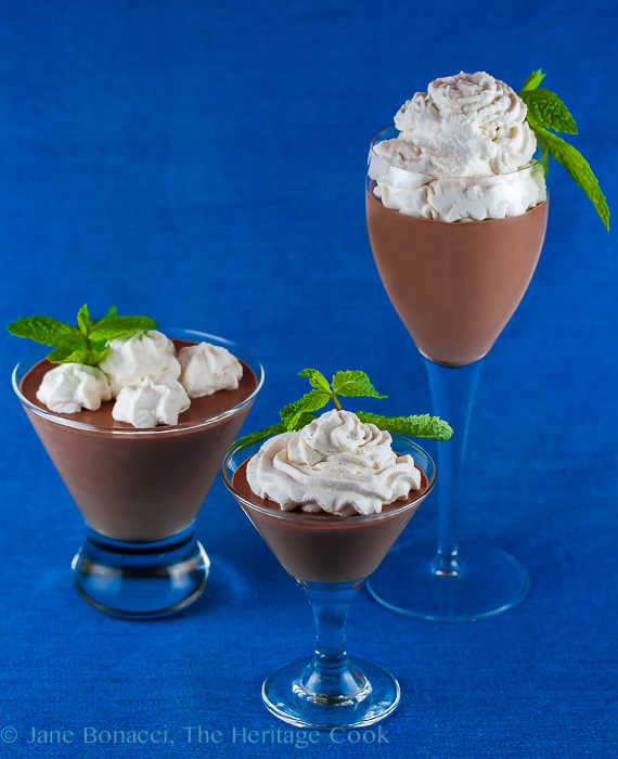 The Easiest Chocolate Mousse for Chocolate Monday (Gluten-Free); 2016 Jane Bonacci, The Heritage Cook