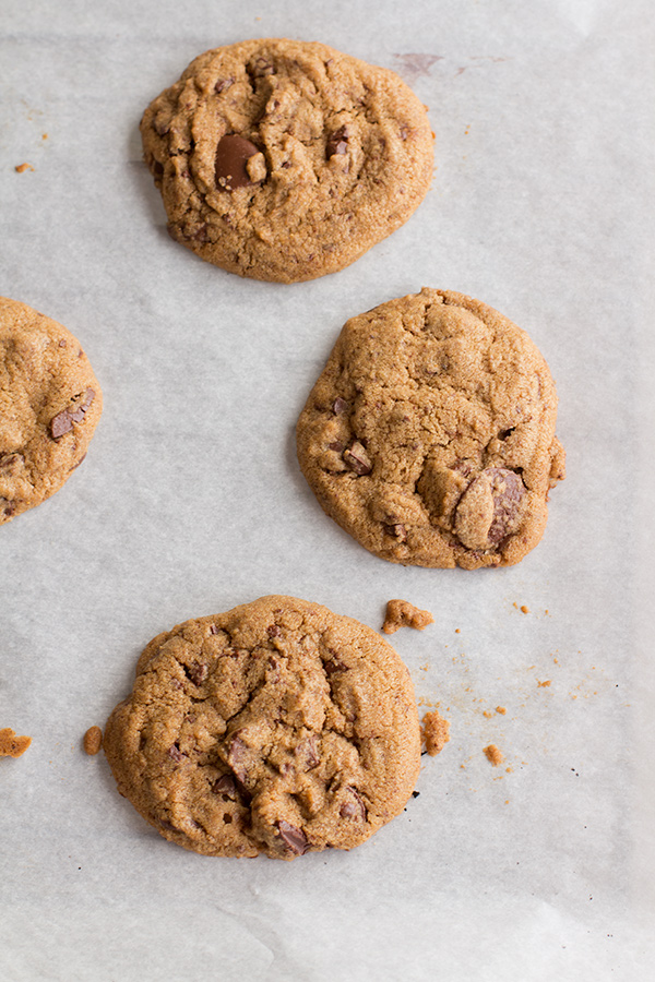 Gluten-Free Brown Butter Chocolate Chip Cookies from The Tomato Tart; © Sabrina Modelle, The Tomato Tart