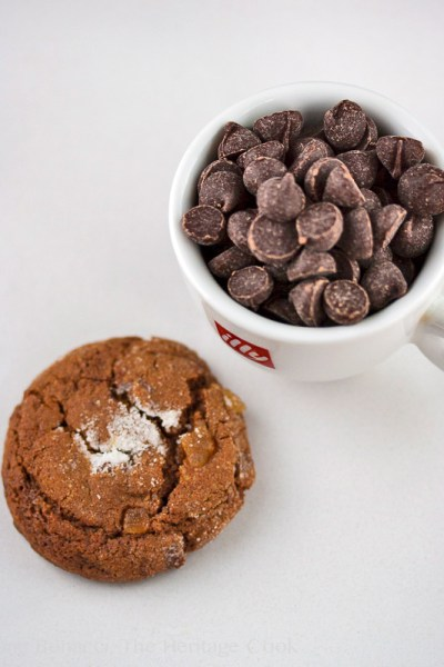 Gluten-Free Ginger Cookies with Chocolate Chips
