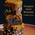 Pumpkin Swirl Brownies #SecretRecipeClub; © 2016 Jane Bonacci, The Heritage Cook
