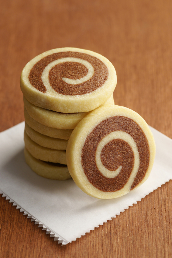 Pinwheel Cookies; Jane Bonacci, The Heritage Cook
