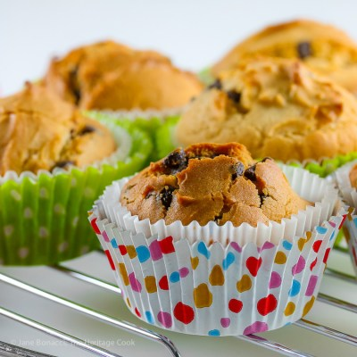 Start Your Day with Gluten Free Chocolate Chip Muffins