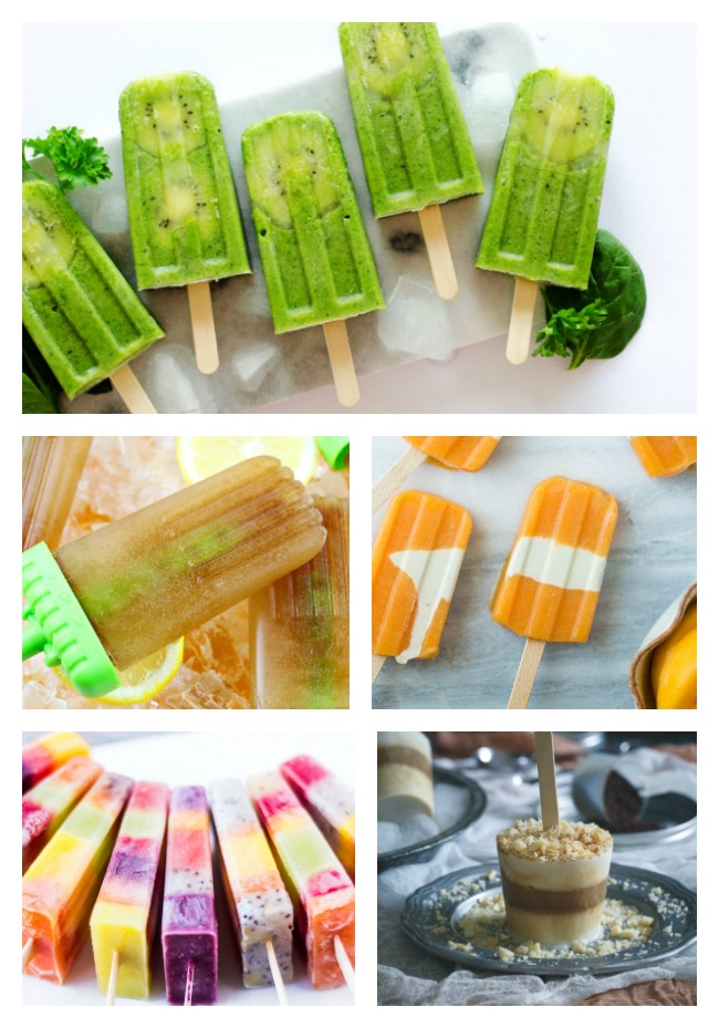 48 of the Most Fun and Festive Popsicles; Jane Bonacci, The Heritage Cook
