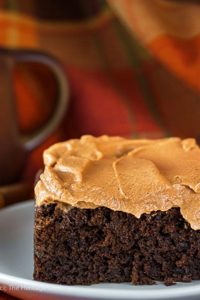 Mimi's Red Devil's Food Cake with Butterscotch Icing (Gluten-Free)