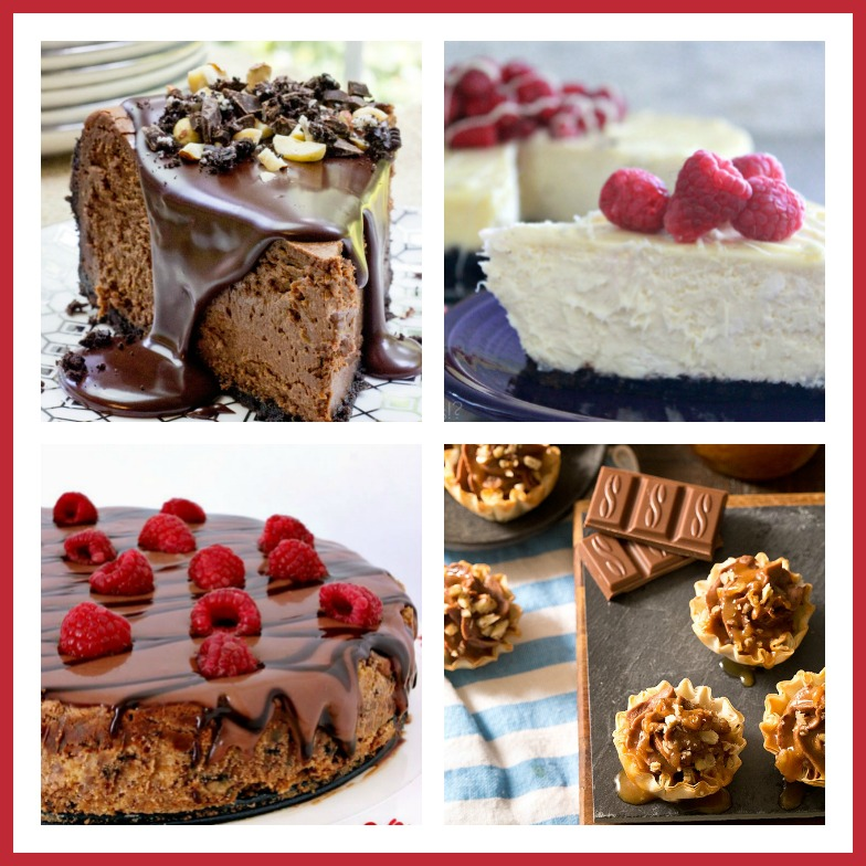 6 Remarkable Chocolate Cheesecake Recipes for Chocolate Monday; Jane Bonacci, The Heritage Cook 2017