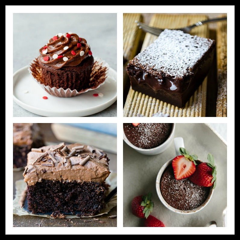 Collection of food bloggers best chocolate cakes and cupcakes recipes; Jane Bonacci, The Heritage Cook