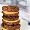 Peanut Butter Chocolate Cookies © 2017 Jane Bonacci, The Heritage Cook