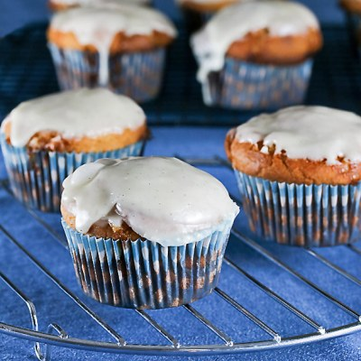 Old Fashioned Donut Muffins with White Chocolate Chips (Gluten-Free)