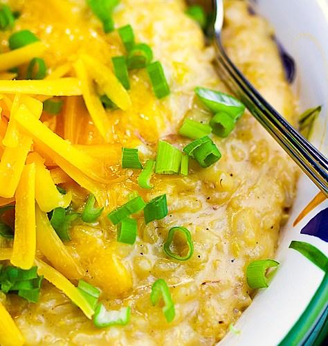 Gluten Free Creamy Rice and Cheese