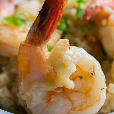 Baked Shrimp and Rice Casserole (Gluten-Free)