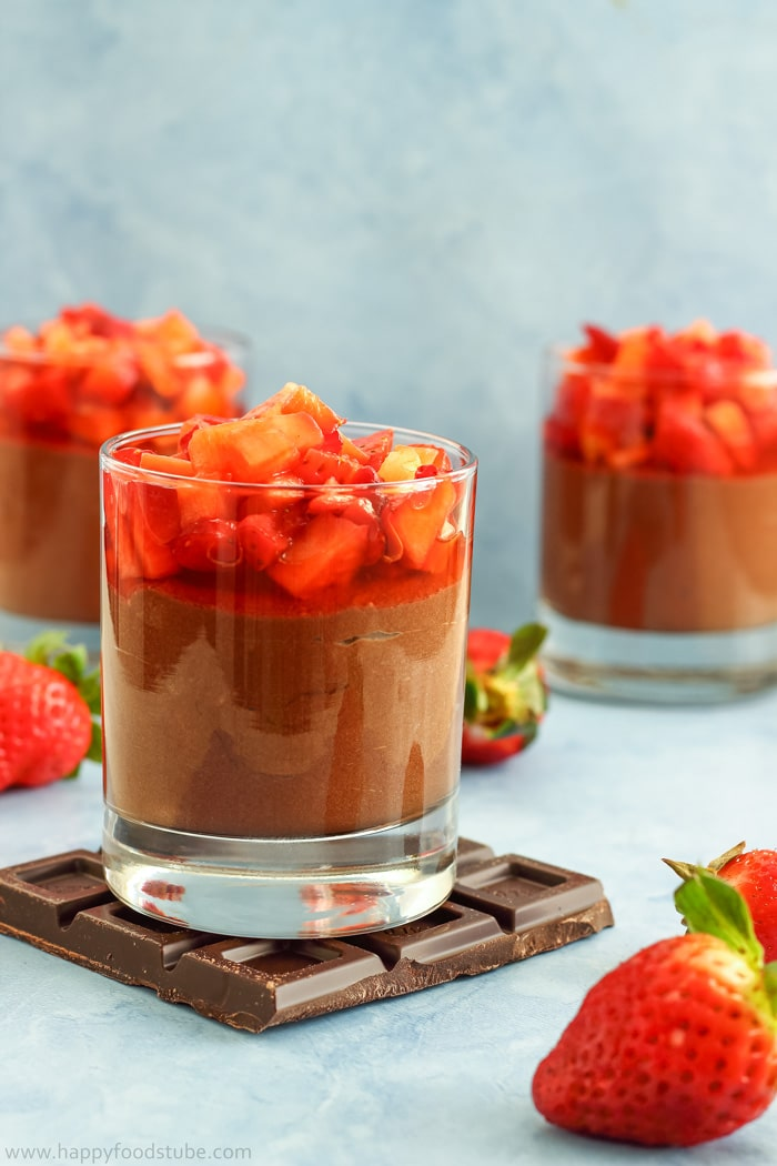 Chocolate Nutella Mousse; 7 Great Chocolate Desserts for Mother's Day 2018 assembled by Jane Bonacci, The Heritage Cook