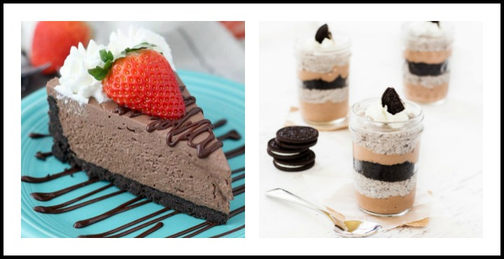 Chocolate Cheesecake & Cheesecake Parfaits; 8 Succulent Chocolate Cheesecakes; compiled by Jane Bonacci, The Heritage Cook 2018