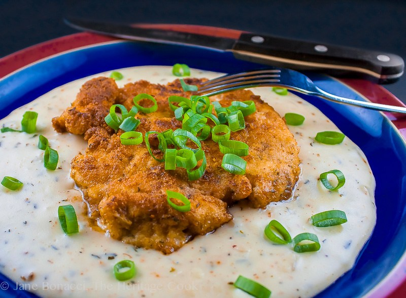 Chicken Cutlets with Madeira Gravy; 18 Comforting Chicken Dishes for Autumn; compiled by Jane Bonacci, The Heritage Cook