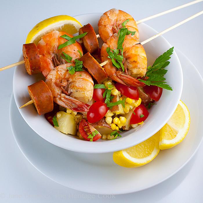 Old Bay Shrimp Boil Skewers; 10 Tips to Help You Live Gluten Free