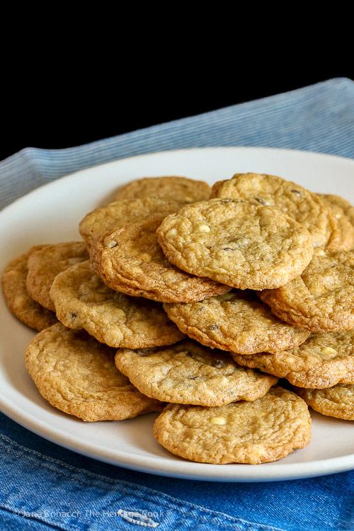 Black and White Chocolate Chip Cookies (Gluten-Free) © 2018 Jane Bonacci, The Heritage Cook