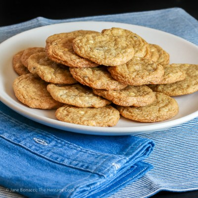 Black and White Chocolate Chip Cookies (Gluten Free)