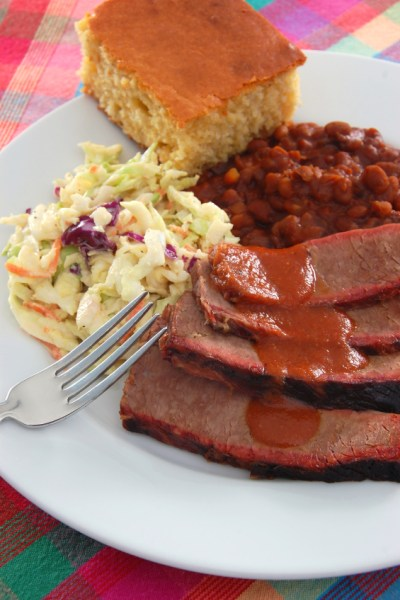Texas-Style BBQ Brisket; The Top Baker's Dozen Recipes of 2018 collection; Jane Bonacci, The Heritage Cook