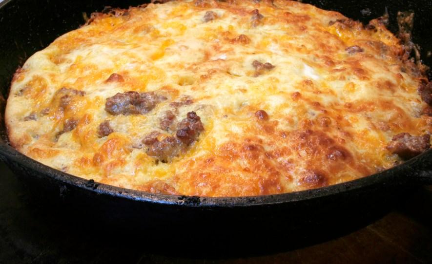 Mexican Potato Sausage Casserole; The Top Baker's Dozen Recipes of 2018 collection; Jane Bonacci, The Heritage Cook