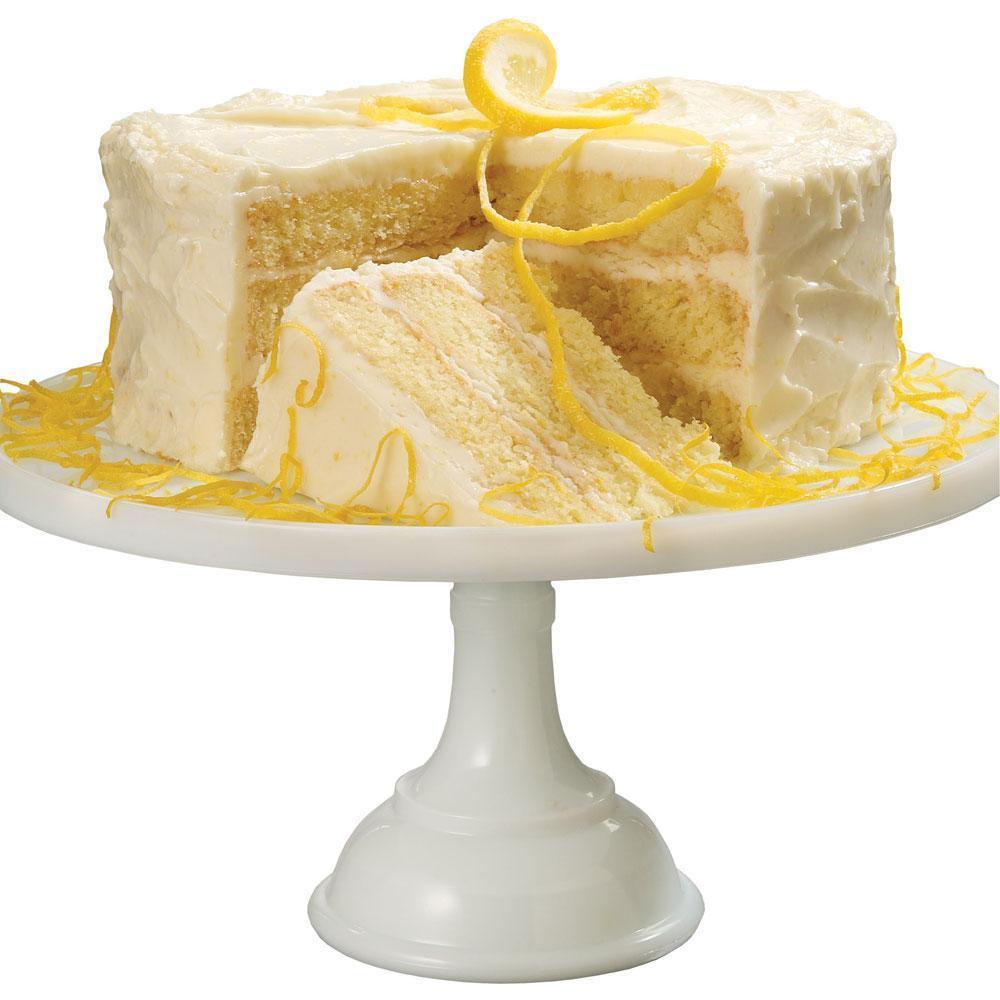 Triple Lemon Layer Cake; The Top Baker's Dozen Recipes of 2018 collection; Jane Bonacci, The Heritage Cook