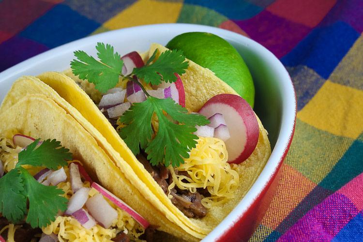 Instant Pot Barbacoa Tacos (Gluten Free) © 2019 Jane Bonacci, The Heritage Cook