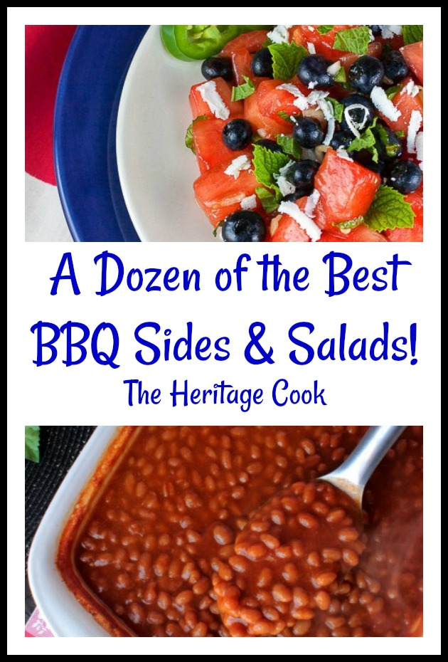 Collection of a dozen of the most delicious BBQ Sides and Salads that you will love
