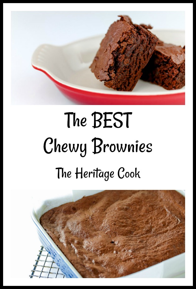 The Best Chewy Brownies in the World (Gluten-Free); © 2019 Jane Bonacci, The Heritage Cook