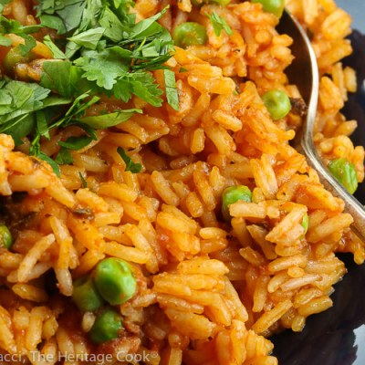 Easy Restaurant-Style Mexican Rice (Gluten Free)