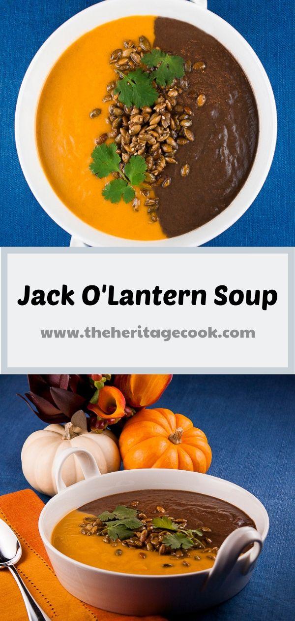 Jack O'Lantern Soup © 2019 Jane Bonacci, The Heritage Cook