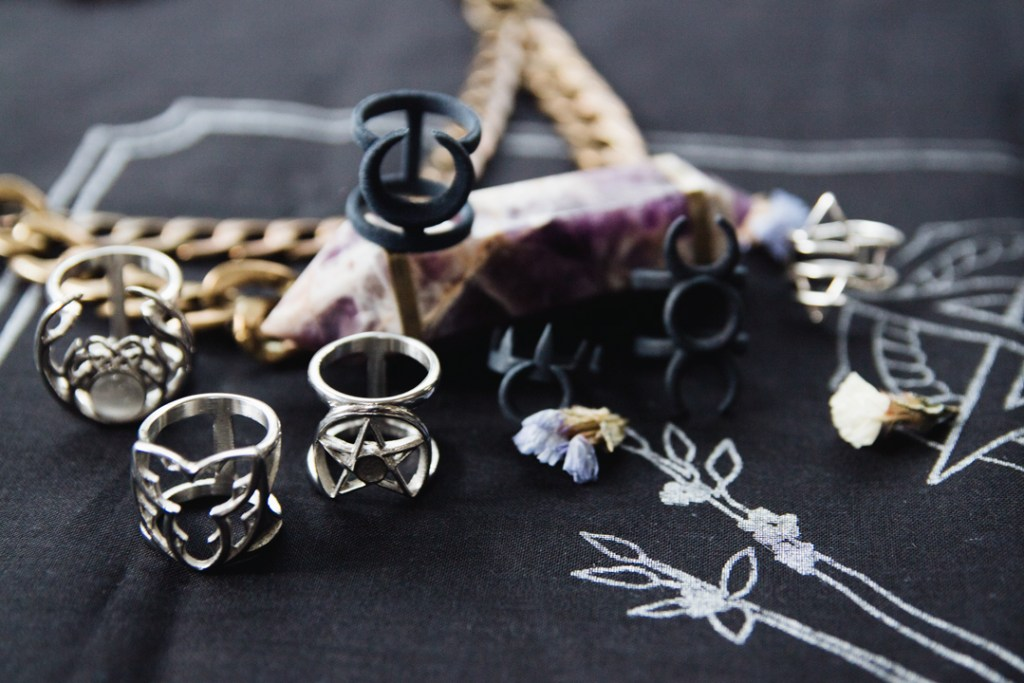 witchy and dark jewelry brands