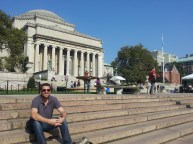 The famous Columbia steps.