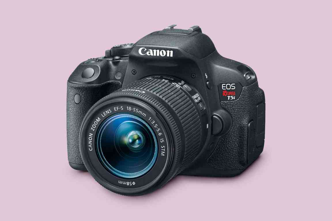 Canon EOS Rebel T5i With 18-55 mm Lens