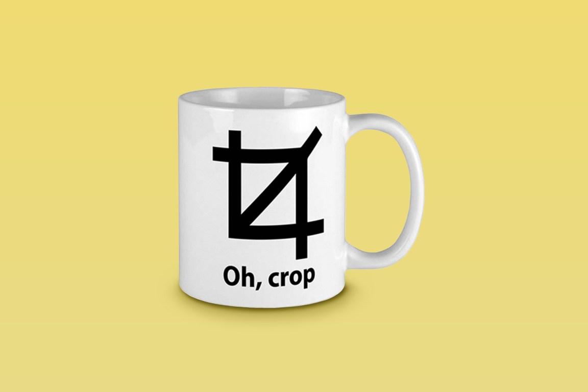 Oh, Crop Mug