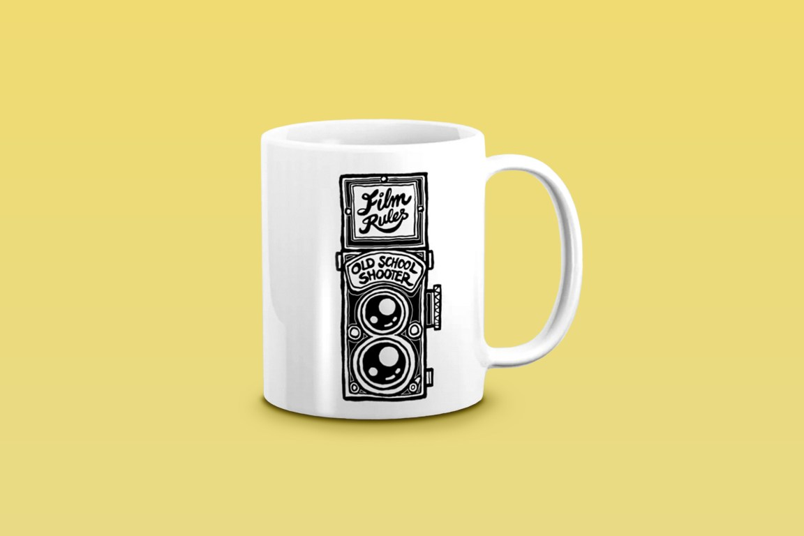 Analog Film Rules Camera Mug