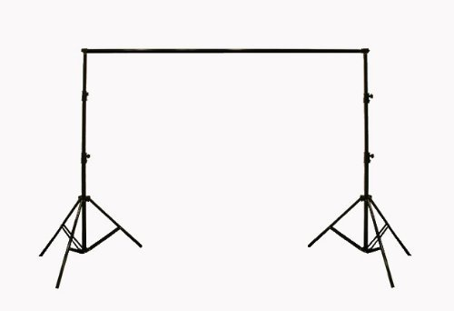 StudioFX New Photography Portable Backdrop Stand Kit Full Size adjustable with carrying bag