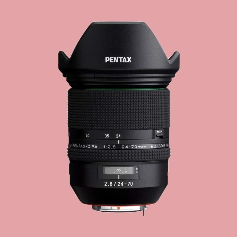 Pentax D FA 24-70mm F2.8ED SDM WR Lens