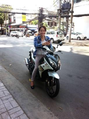 Vu Chi - my awesome tour guide