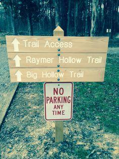 Maple Springs Trail Head