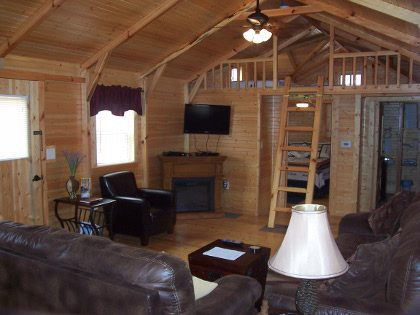 Big Leaf Hickory Cabins Mammoth Cave Cabin Rental