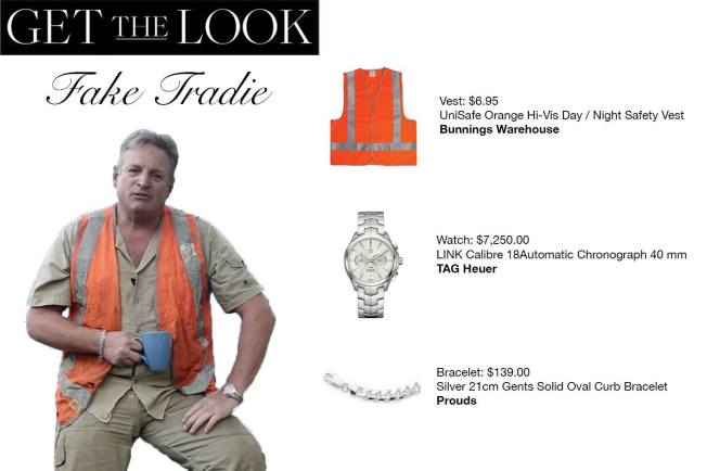 get the tradie look