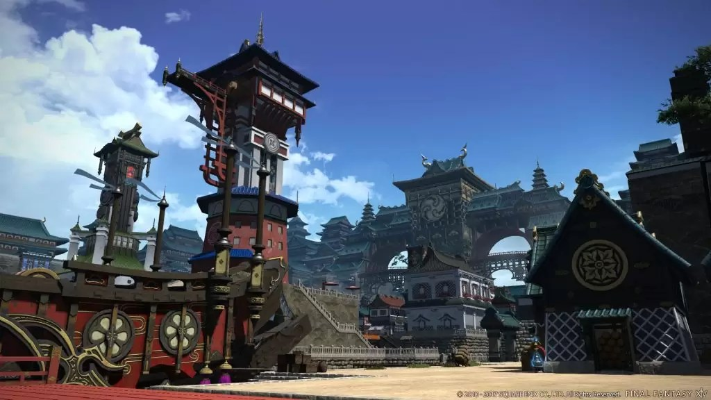 Final Fantasy XIV Stormblood Plethora Of Screenshots Amp Artwork The Hidden Levels