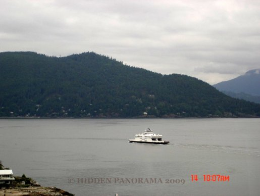Bowen Island view from West Vancouver