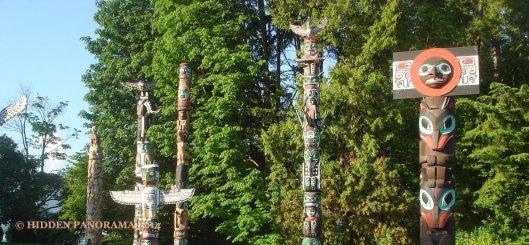 Totem at Stanley Park