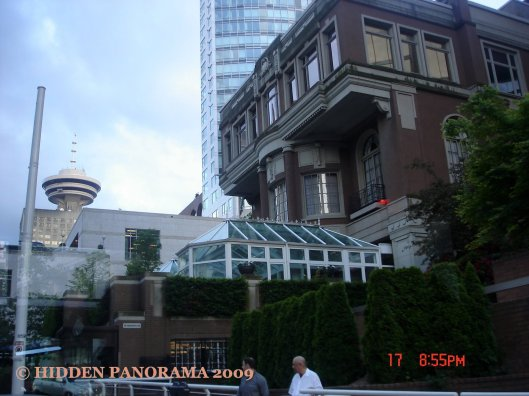 Vancouver Lookout at Cordova St near Burrard St in Vancouver Downtown - I'm on my way to the Airport