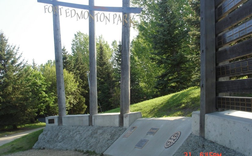 Name Of The Place : Fort Edmonton Park