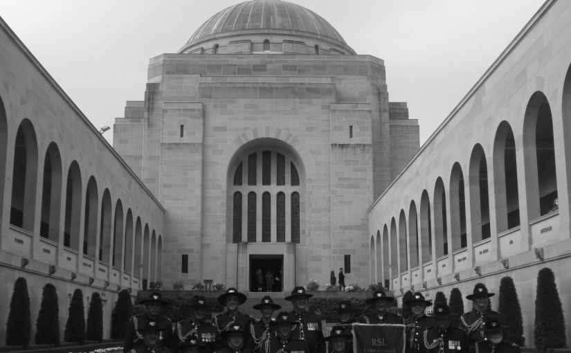 Chromatic Outlook : Australian War Memorial