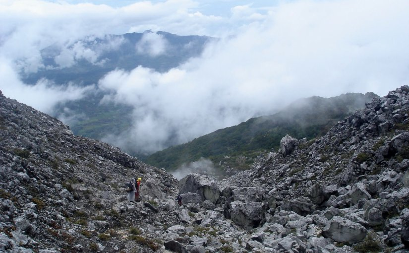 Precious Moment In The Mountain : Mount Apo Boulders
