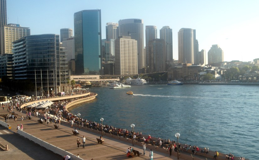 View At My Window : Sydney Cove