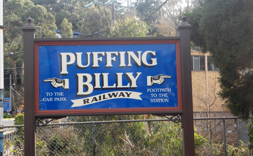 Name Of The Place : Puffing Billy Railway